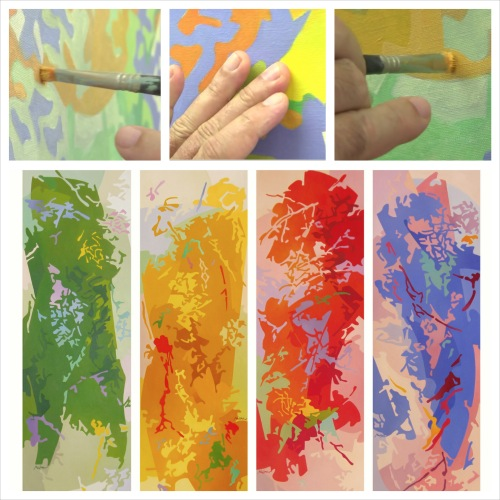 """Sèrie """"Color de les ombres. Quatre Estacions"""" (2005)"""