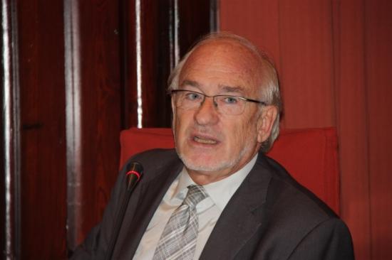 Arcadi Calzada, al Parlament. Foto: ACN