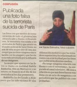 La falsa terrorista que va donar la volta al món